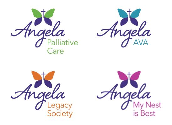 Angela Hospice Logos New