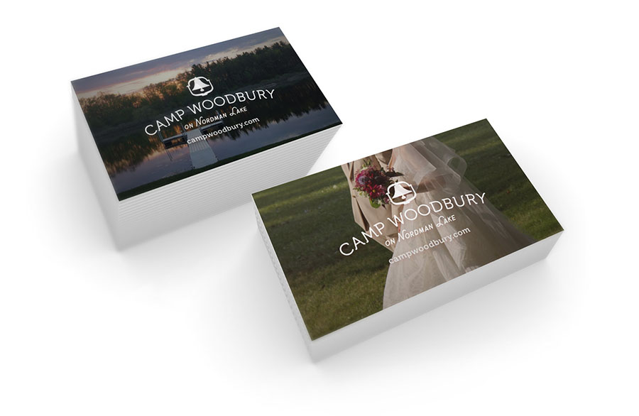 Camp Woodbury Business Cards