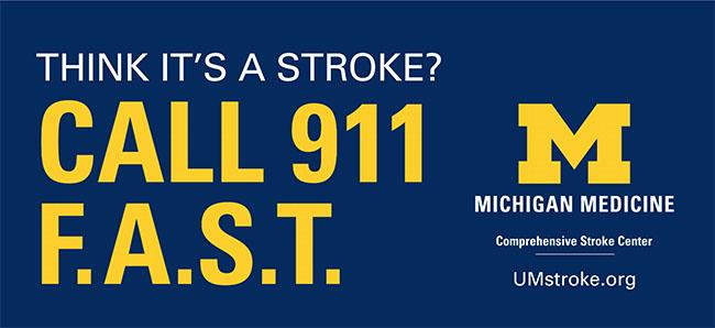 Michigan Medicine F.A.S.T. Campaign ad