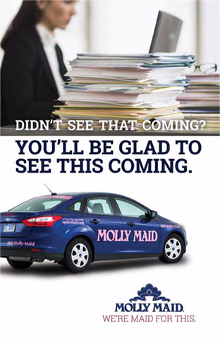 Molly Maid Mailer No. 5