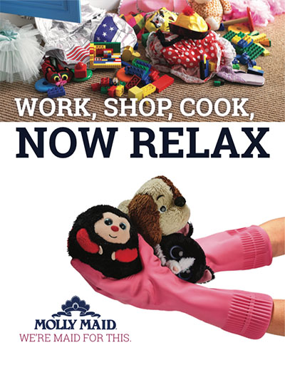 Molly Maid - Work, Shop, Cook, Now Relax