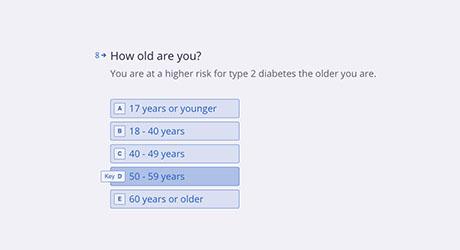 NKFM Risk Test Age Questionnaire