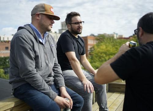 Art directors sitting