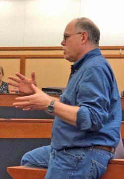 Michael Seid teaching a class at Ohio State University