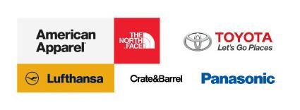 Brands using Helvetica